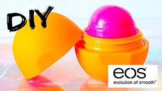 DIY tinted EOS lip balm! EASY - YouTube