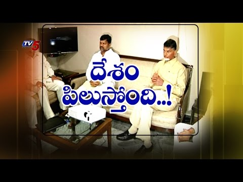 CM Chandrababu Plans To Strengthen Party In Other States : TV5 News