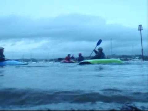 playboating at tca kayaking
