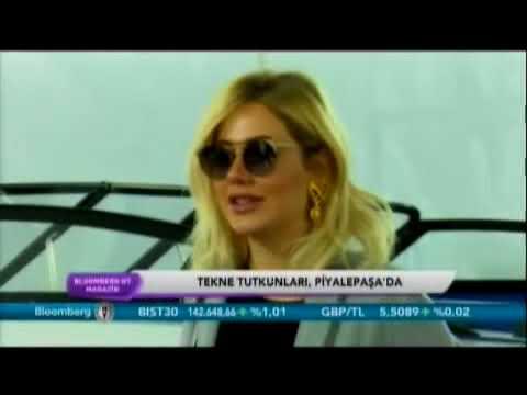 Piyalepaşa/Tezmarin Boat Show Bloomberg HT'de!