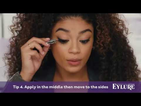 Bold and Edgy Lashes with Jasmine Brown (видео)