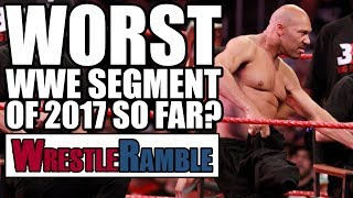 WWE Raw vs Smackdown, June 26 & 27, 2017 reviewed with Luke & Oli, including two lady main events, Samoa Joe takes out Brock Lesnar and another contender for...