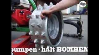 Das patentierte Maschinen Steiner Stachelrad