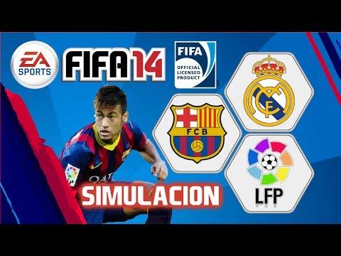 FIFA 14, Barcelona vs Real Madrid, Jornada 10 Liga BBVA Bancomer