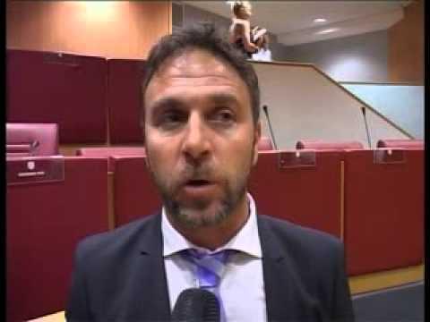 ALESSANDRO PIANA ALLA PRIMA RIUNIONE DI CONSIGLIO REGIONALE