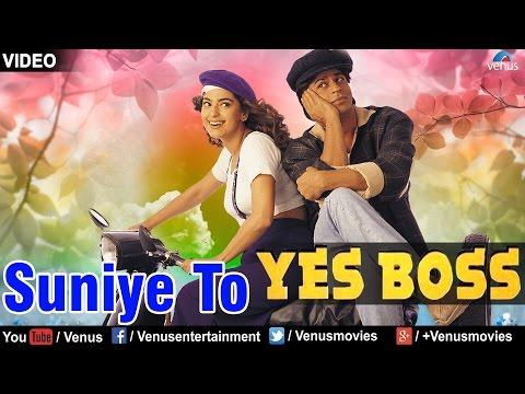 Suniye To - VIDEO SONG | Shah Rukh Khan & Juhi Chawla | Yes Boss | 90s Superhit Bollywood Song