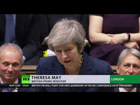 UK PM May facing no confidence vote over Brexit deal