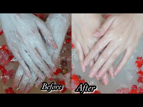 Manicure Pedicure At Home || 100% Brightening Results