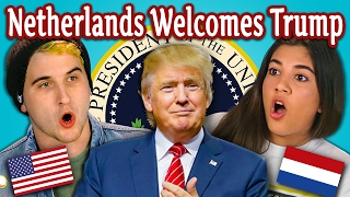 Video TEENS REACT TO THE NETHERLANDS WELCOMES TRUMP MP3, 3GP, MP4, WEBM, AVI, FLV Maret 2019