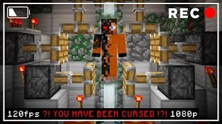 Do NOT TRAP the CURSED TEST SUBJECT in Minecraft! (SCARY Survival EP4)