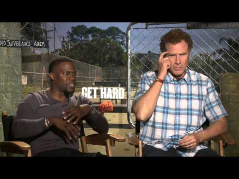 Get Hard: Will Ferrell and Kevin Hart Exclusive Interview