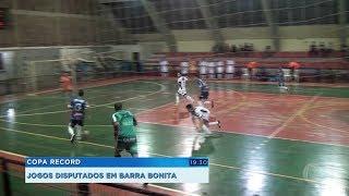 Dois jogos disputados em Barra Bonita pela Copa Record de Futsal Masculino