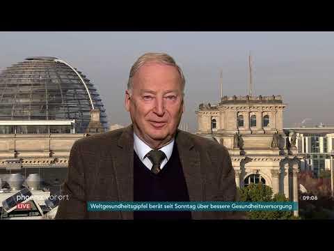 Alexander Gauland im phoenix tagesgespräch am 16.10.18