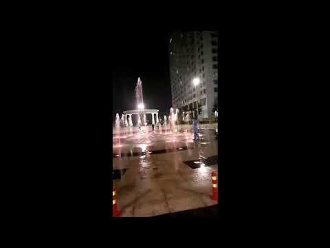 Đài phun nước Dự án An Bình City - Hà Nội - Sàn phun nước nghệ thuật