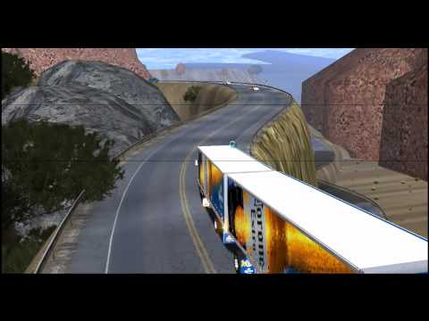 18 wheels of steel haulin mod bus colombia (armenia-calarca)