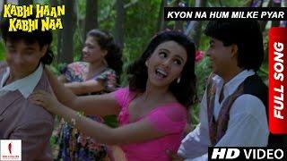 Nonton Kyon Na Hum Milke Pyar   Full Song   Kabhi Haan Kabhi Naa   Shah Rukh Khan   Suchitra Krishnamurthy Film Subtitle Indonesia Streaming Movie Download