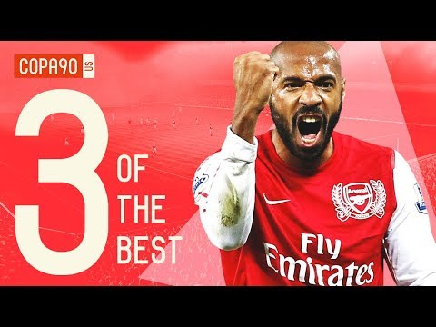 Video: The 3 Players That Define Arsenal Football Club