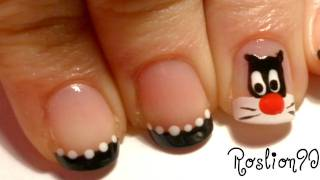Sylvester the Cat Nails - YouTube