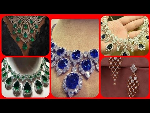 Latest stylish Diamond bridal jewellery collection