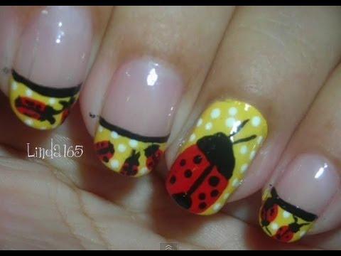 Nail Art - Ladybug - Diseño de Uñas