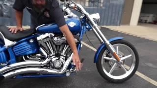 7. 2008 Harley-Davidson Rocker C with Vance & Hines Big Radius and a Screamin' Eagle Heavy Breather!