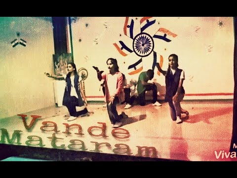 Vande mataram once again performaned by new public school students choreographed by @candyman