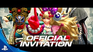 THE KING OF FIGHTERS XIV PRESENTA AL TEAM OFFICIAL INVITATION