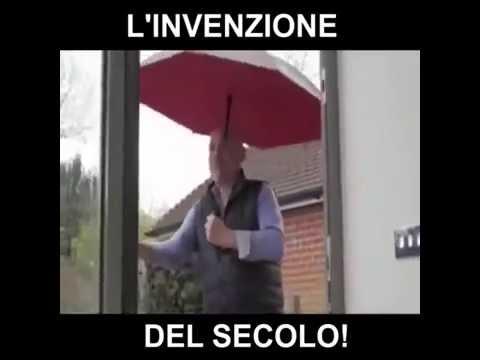 ombrello: l'invenzione del secolo!