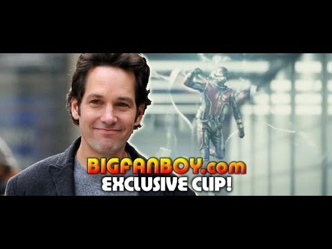 Leaked test footage of Paul Rudd as ANT-MAN