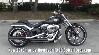 8. 2016 Harley Davidson Softail Breakout