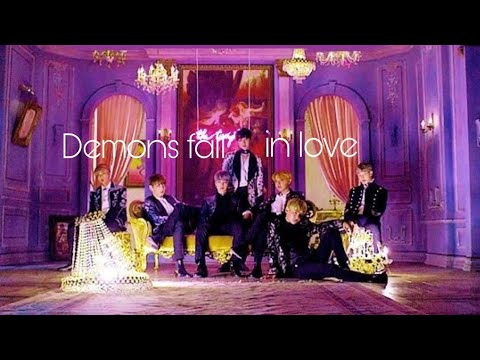 Demons fall in love with mystery girl [BTS] part - 7