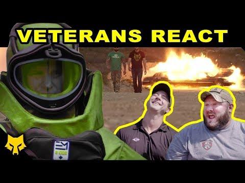 Veterans React to Hurt Locker & MILITARY Movies