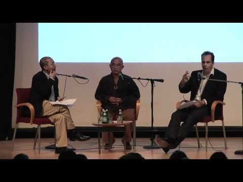 PEN American Center an der New School: Liao Yiwu, Philip Gourevitch und Salman Rushdie