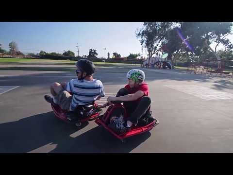 Vídeos de 'Razor Crazy Cart: ¡¡¡a derrapar!!!'