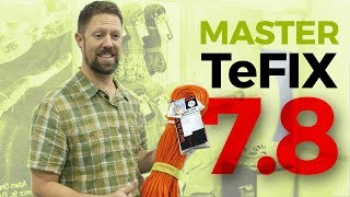 TENDON MASTER 7.8mm TeFIX - twin half climbing ropes 2019 by WeighMyRack