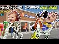 HELLO NEIGHBOR SHOPPING CHALLENGE! NEW HOUSE TOUR + WalMart Has EVIL Mannequins! (FGTEEV Beta 3 #1)