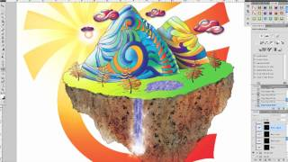 Digital Art in Photoshop & Illustrator CS4--Mountain of Make Believe