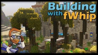 Building with fWhip :: DESERT TRANSFORMATION #97 Minecraft Let's Play 1.12 Single Player Survival