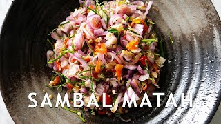 Video RESEP SAMBAL MATAH ANTI GAGAL! MP3, 3GP, MP4, WEBM, AVI, FLV April 2019
