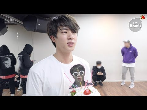[BANGTAN BOMB] Sunglasses Jin's Surprise Birthday Party - BTS (방탄소년단)