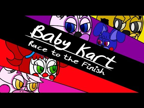 BABY KART: Race To The Finish - Funny Sister Location Animation