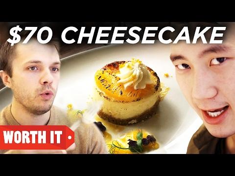 Download $4 Cheesecake Vs. $70 Cheesecake HD Mp4 3GP Video and MP3