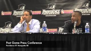 PC Marquette Press Conference