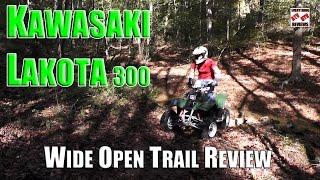 8. KAWASAKI LAKOTA 300 REVIEW - Best Value Used ATV 2016
