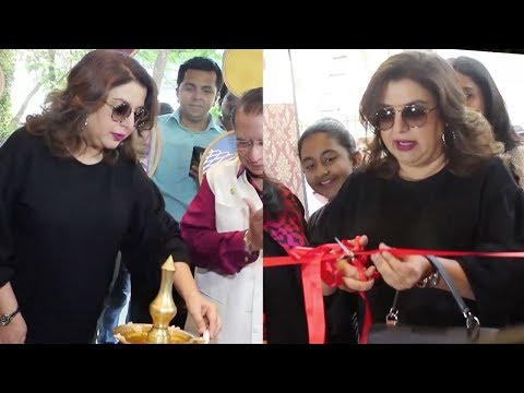 Farah Khan Inaugurating Marshall's 15th Showroom I