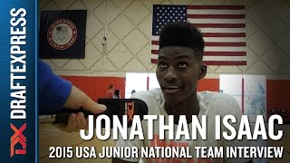 Jonathan Isaac 2015 USA Basketball Mini-Camp Interview