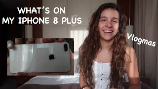 WHAT'S ON MY IPHONE 8 PLUS || Iris Ferrari