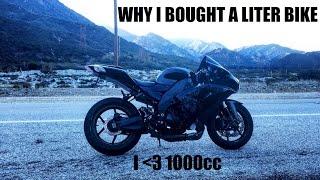 8. Why I Chose A Liter Bike (1000cc) Kawasaki Ninja ZX10R