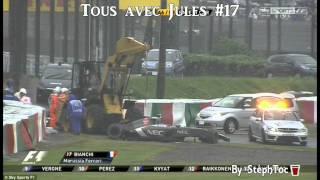 Video Crash Jules Bianchi - Japanese Grand Prix F1 2014  Suzuka MP3, 3GP, MP4, WEBM, AVI, FLV November 2017