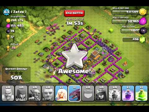 Clash of Clans All Troops Level 6